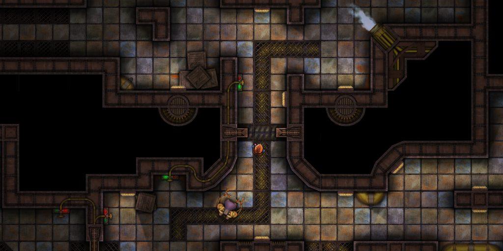 Screenshot der Spielgrafik