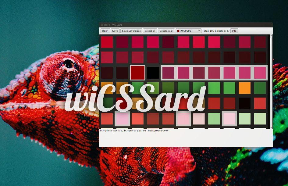wiCSSard Screenshot